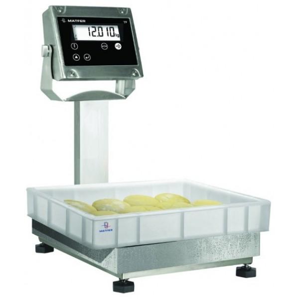 Balance colonne digitale spécial fournil TFE 30 précision 5 g, portée maxi 30 kg