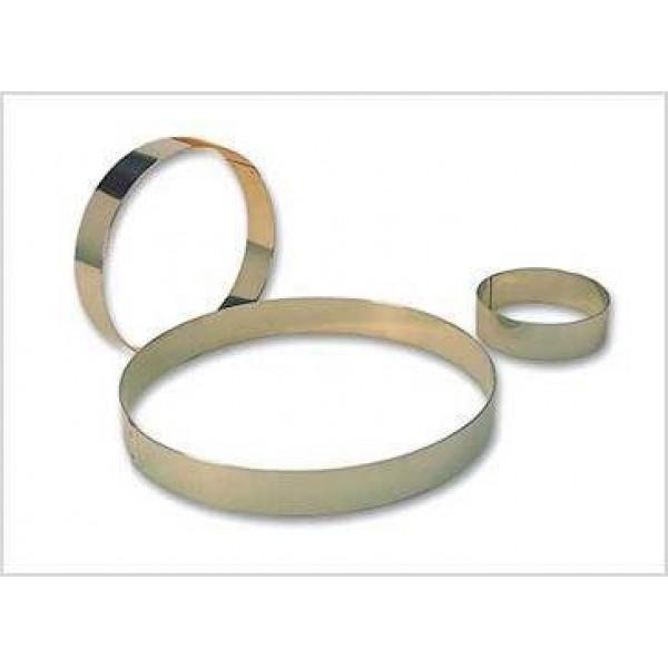 Cercle à entremet en acier inoxydable Ø 24 cm
