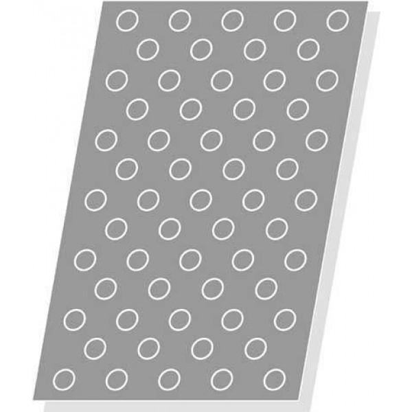 Toile de cuisson Silform, 59 petits choux Ø 30 mm x 55 mm