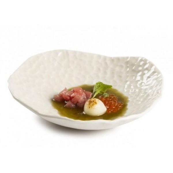 Assiette porcelaine, 100% Chef Gaudi creuse Ø 20 cm (x 3)