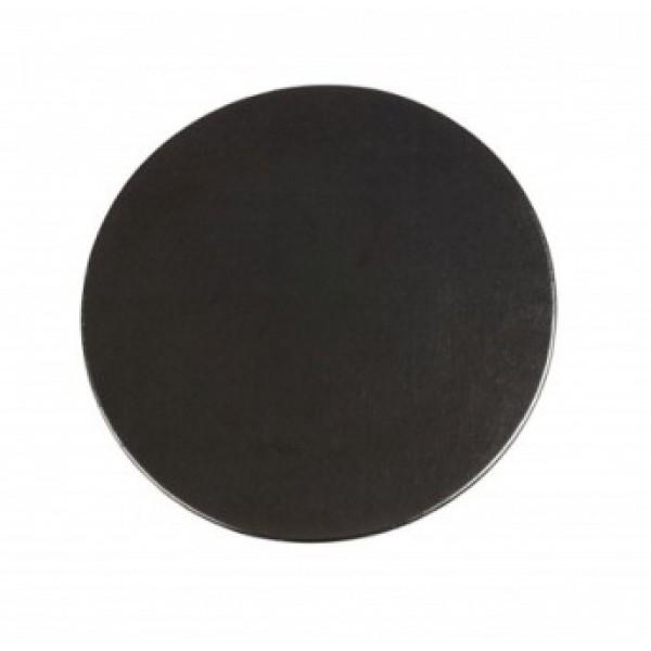 Assiette en verre 100% Chef Obsidian & support Advance (x 3)