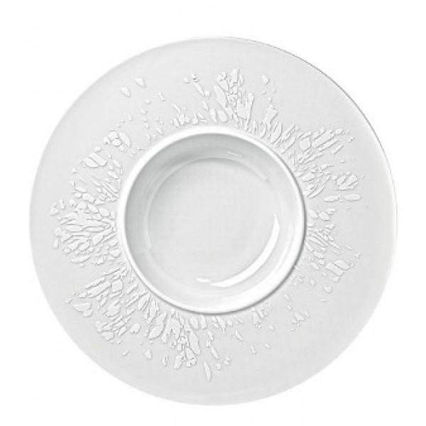 Assiette porcelaine Agrume, à pâtes, Ø 28 cm (x 6)