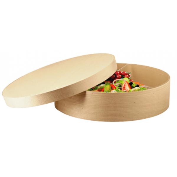Boite à fromage en peuplier 600 cl, Ø 330 mm (x  5)