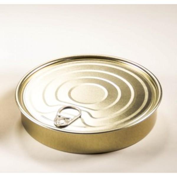 Boite de conserve ronde 28 cl à garnir, non scellable, 100% Chef (x 50)