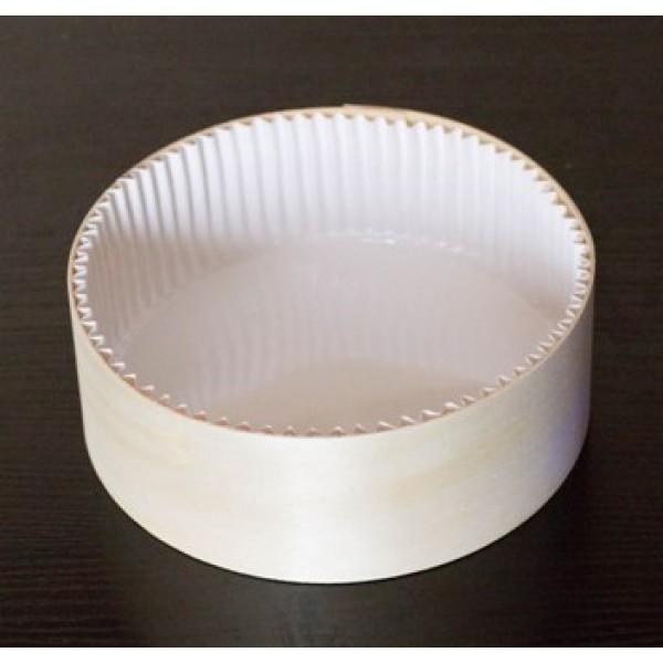 Fond boite à fromage en peuplier  45 cl avec caissette, sans couvercle (x  50)