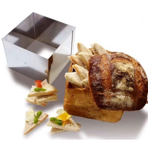 Carré à pain de mie surprise 16 x 16 cm, 48 sandwichs (x 1)
