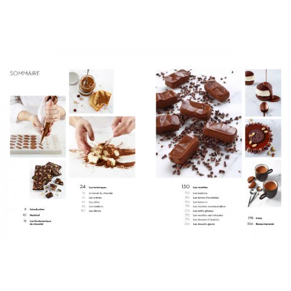 Livre Chocolat, Ecole Ferrandi Paris