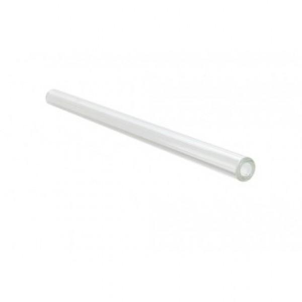 Paille en verre droite Ø 10 mm h 20 cm, avec un écouvillon (x 24 unités)