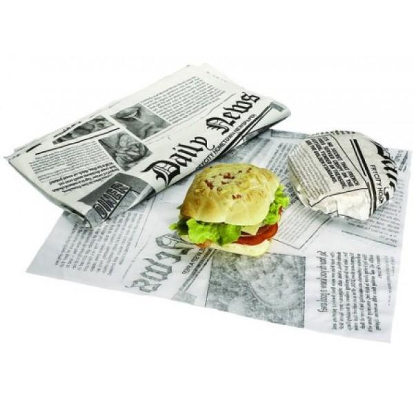 Papier journal alimentaire 33 x 44 cm (x 2500)