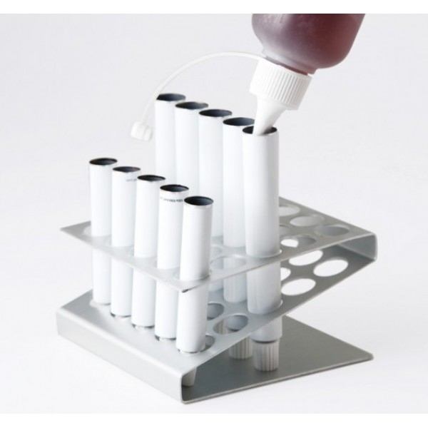Tube à remplir 15 ml blanc en aluminium (x 100)