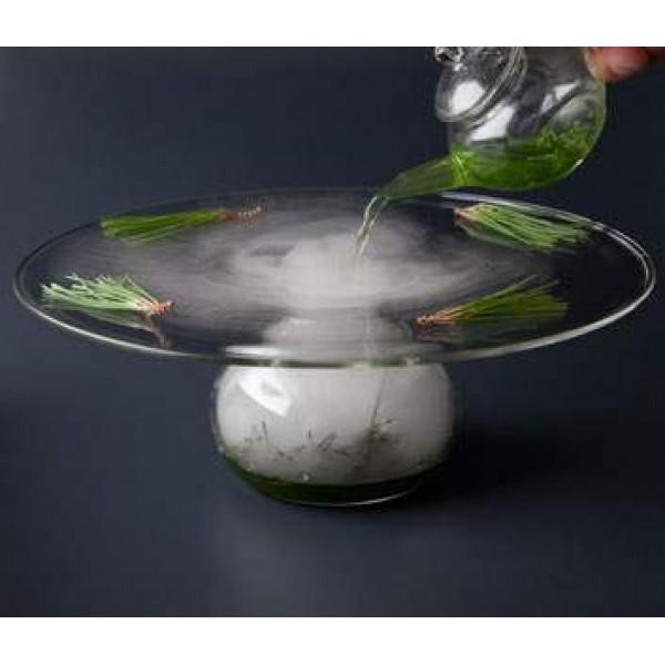Assiette en verre 100% Chef, Ovni Ø 23 cm