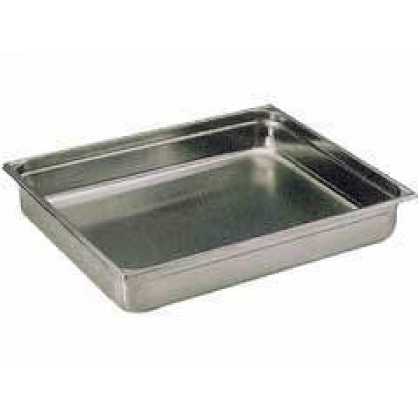 Bac gastronorme GN 2/1, 19 litres, ht 65 mm