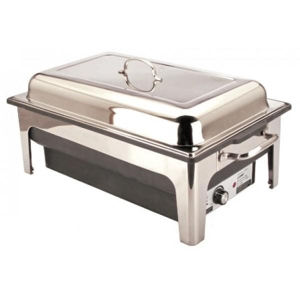 Chafing dish 850 cl électrique éco en acier inoxydable GN 1/1