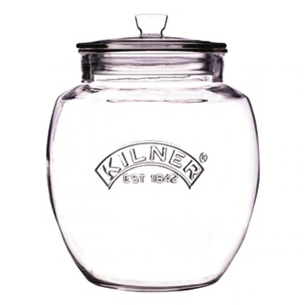 Bonbonnière 4 litres en verre sodocalcique (x 4 unités)