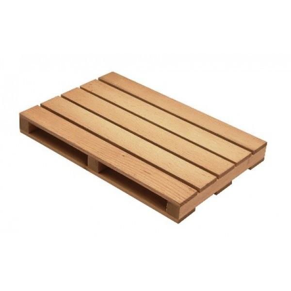 4 pièces cale en bois véritable bois hêtre naturel de porte 80 x 24 x 20