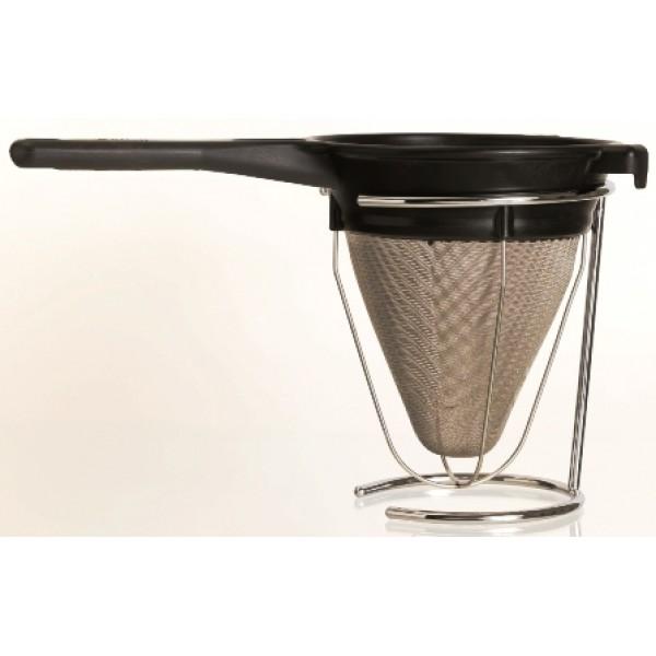 Support fil pour entonnoir inox 1.9 litres, passe sauce