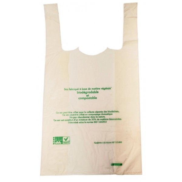 Sac Bioplast 13 microns 26 x 45 cm (x 1000)