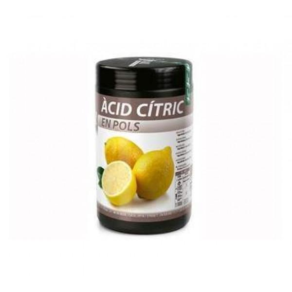 Acide citrique E 330 en poudre fine Sosa, 1 kg
