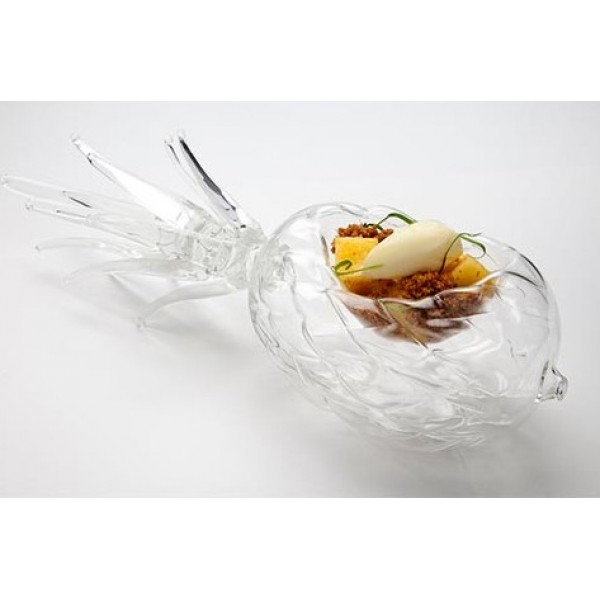 Assiette en verre 100% Chef, forme Ananas 60 ml (x 1)