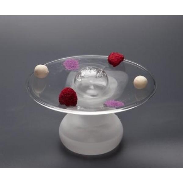 Assiette en verre 100% Chef, Ovni Tapa Ø 14 cm (x 6)