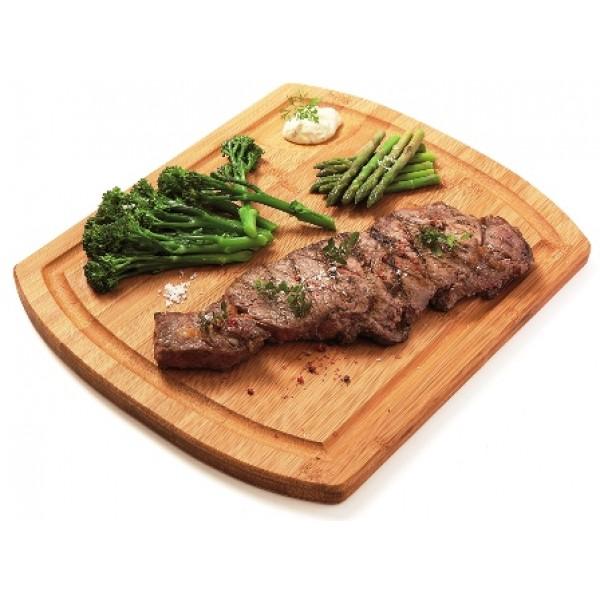 Assiette en bambou, planche à steak 36 x 30 cm (x 6)