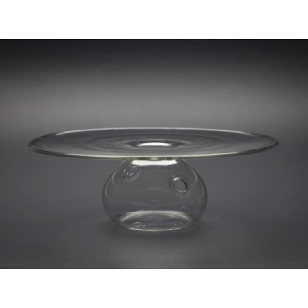 Assiette en verre 100% Chef, Vulcano Ø 28 cm