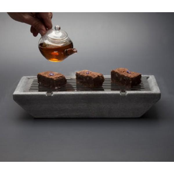 Barbecue Cool  XL en marbre, 30 x 16 x 6 cm, 100% Chef