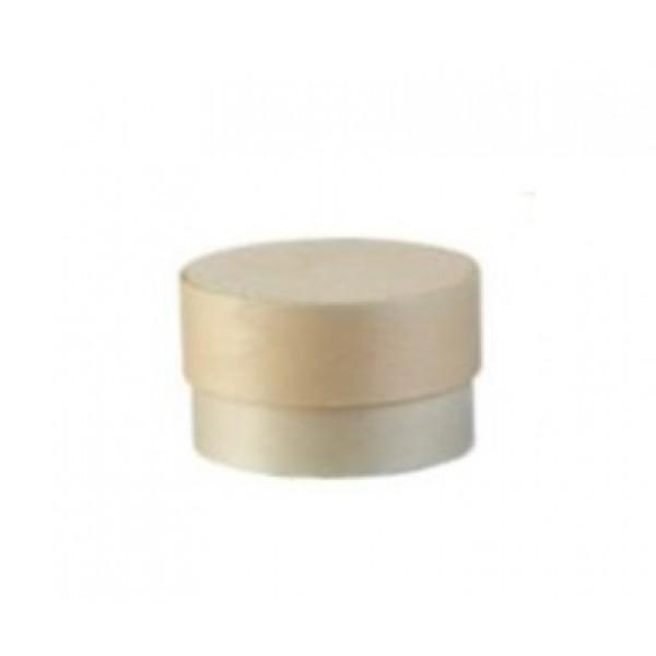 Boite à fromage en peuplier   5 cl avec caissette, Ø 53 mm (x 100)