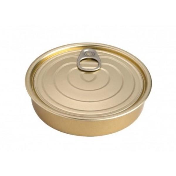 Boite de conserve ronde 12 cl à garnir et/ou à sceller, 100% Chef (x 100)