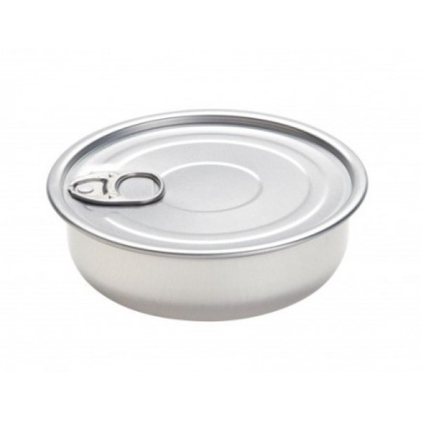 Boite de conserve ronde 15 cl à garnir et/ou à sceller, 100% Chef (x 100)