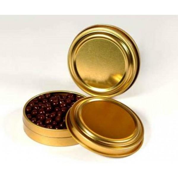 Boite Caviar Imitation OR pour vos perles d'alginate (x 12)