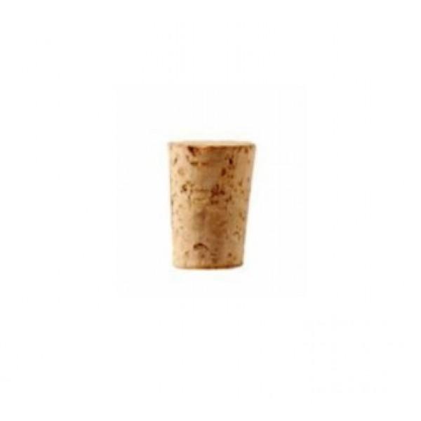 Tube à essai 40 ml en verre borosilicate + bouchon liège (x 6)