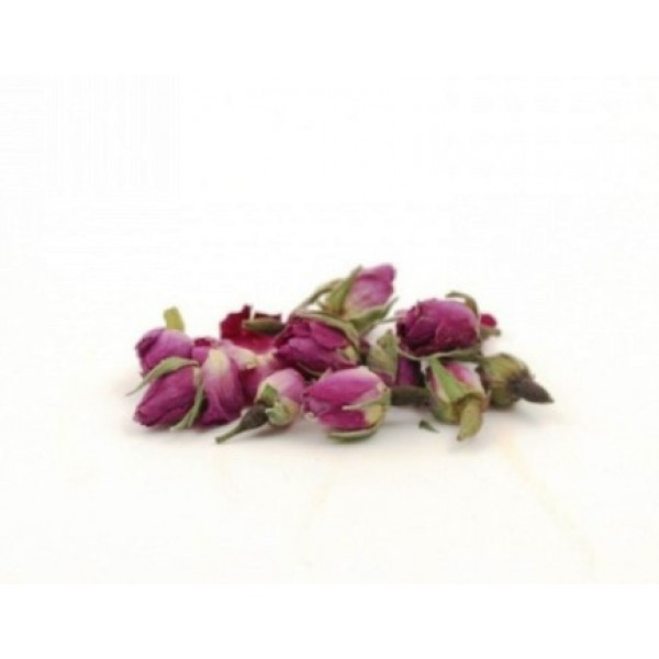 Boutons de roses séchées, fleurs comestibles (250 g)
