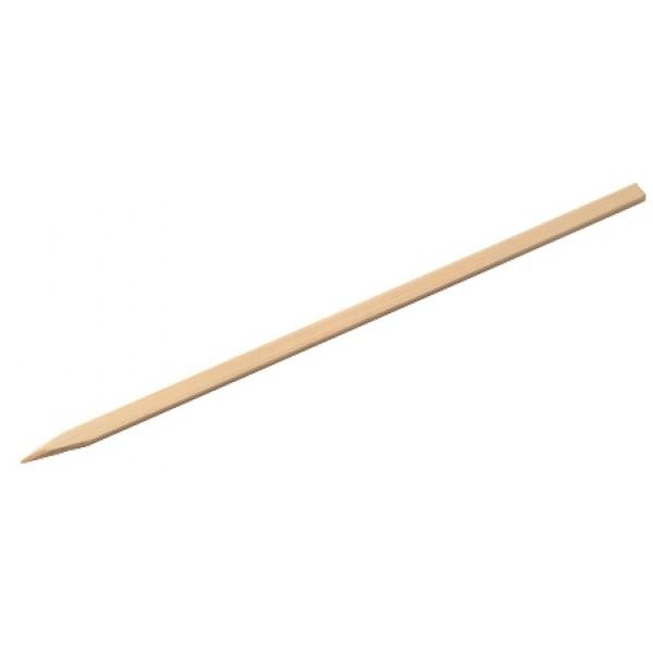 Brochette en bois de bambou plate 20 cm (x 400)