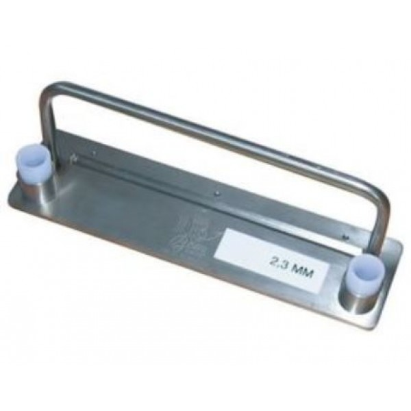 Cassette de coupe épaisseur 2.3 mm, pour coupe lanière CLANX