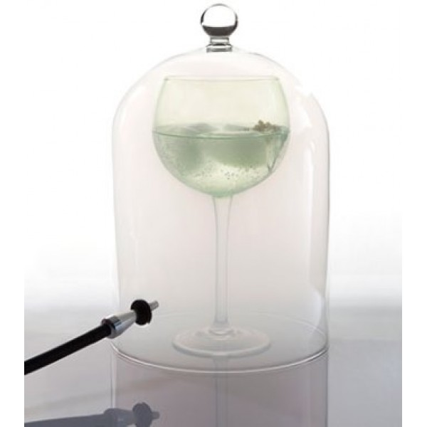 Cloche à fumée pour cocktails Ø 18.5 cm (x 6)