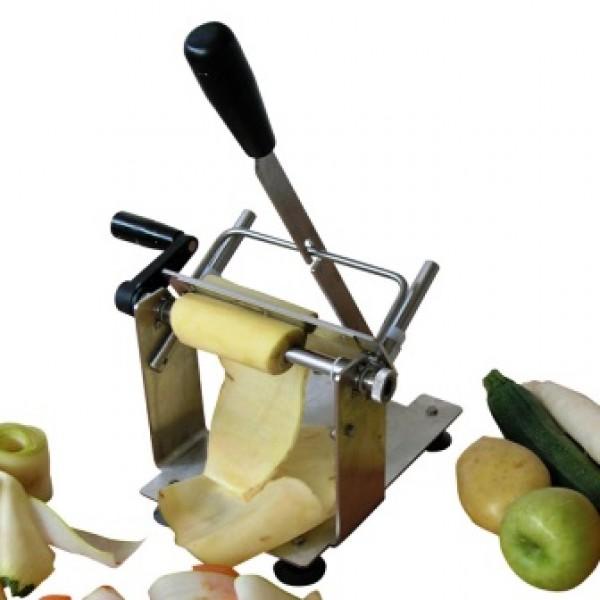Coupe lanières de légumes et fruits manuel avec levier