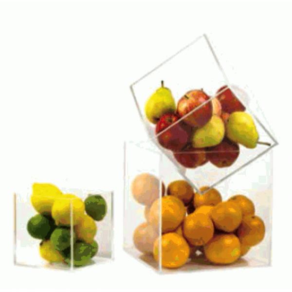 Cube en acrylique 250 x 250 x 250 mm