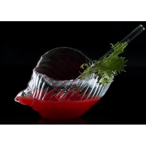 Assiette en verre 100% Chef, Escargot de mer 25 cl (x 6)