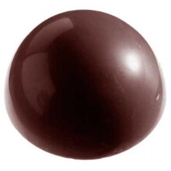 Moule à chocolat, demie sphère Ø 5 cm, 12 empreintes