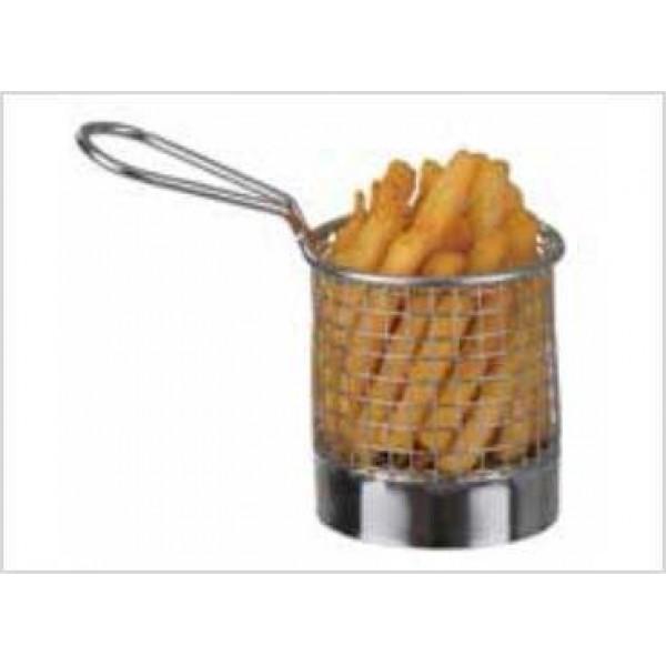 Panier ronds à pommes frites Ø 80 mm (x 6)