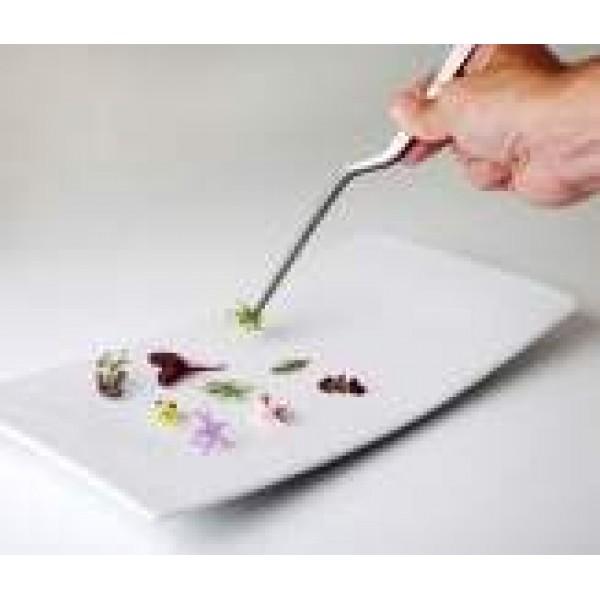 Pince à Sushi / Sashimi en acier inoxydable, 14 cm