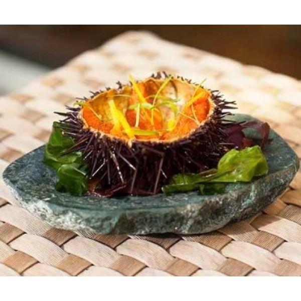 Assiette en marbre 100% Chef, Imperator verte (x 6)