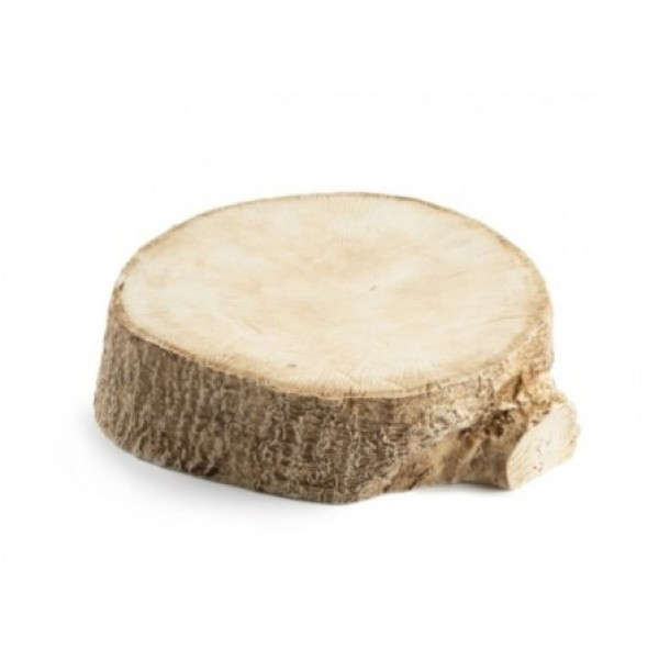 Assiette porcelaine 100% Chef, tronc d'arbre Ø 23 cm (x 6)