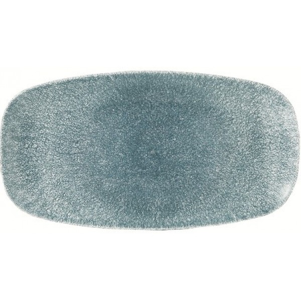 Assiette porcelaine Raku Topaze 29.8 x 15.3 cm (x 12)