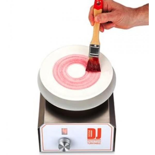 Machine DJ decor food, plateau tournant, décors et présentation
