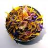 Salade de fleurs séchées : bleuet, souci, rose (100 g)