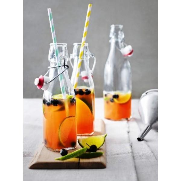 Bouteille  25 cl à limonade avec bouchon (x 24)