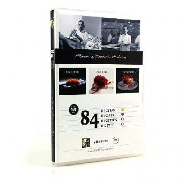 Vidéo 84 recettes cuisine moléculaire, Ferran Adrià