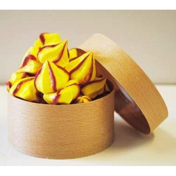 Boite à fromage en peuplier  14 cl avec caissette, Ø 82 mm (x 100)